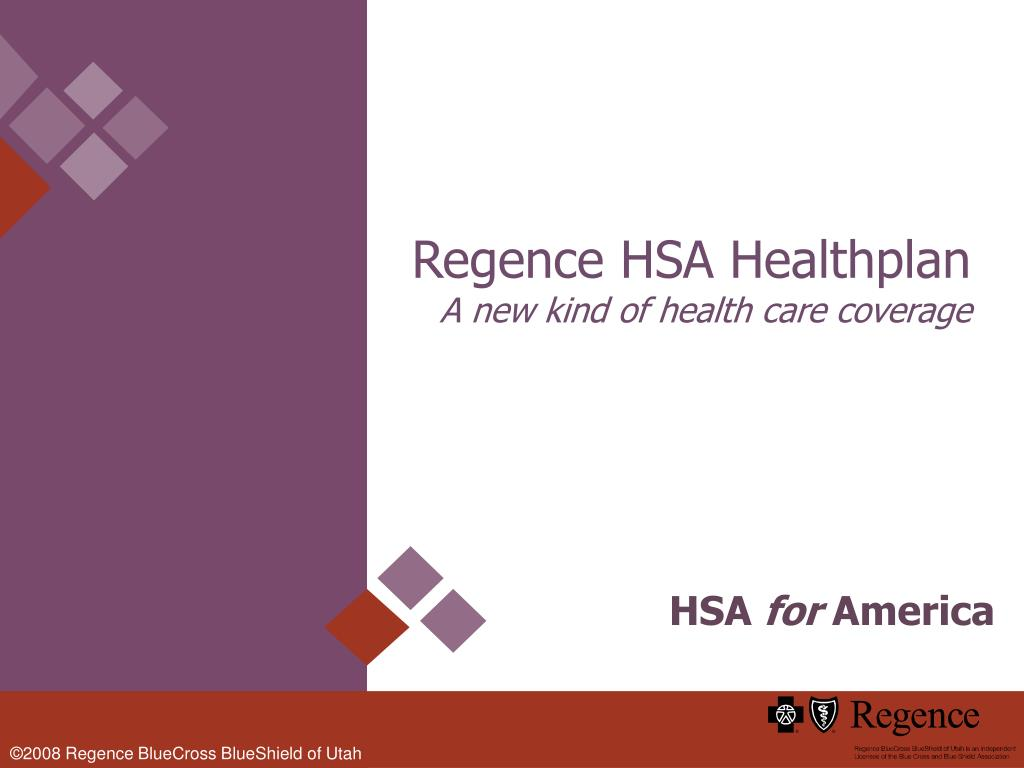 Regence HSA Healthplan