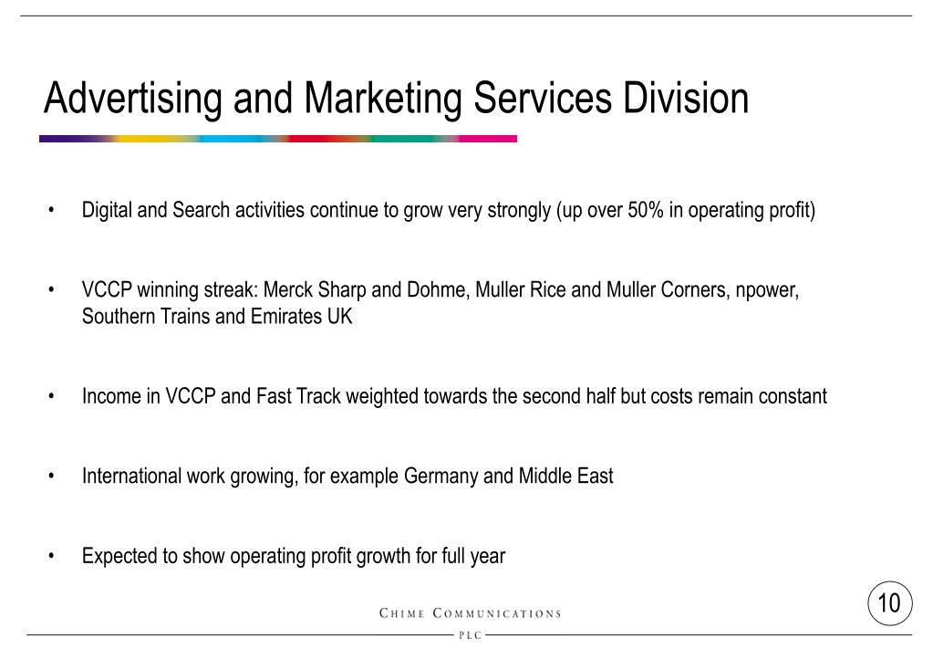 Advertising and Marketing Services Division