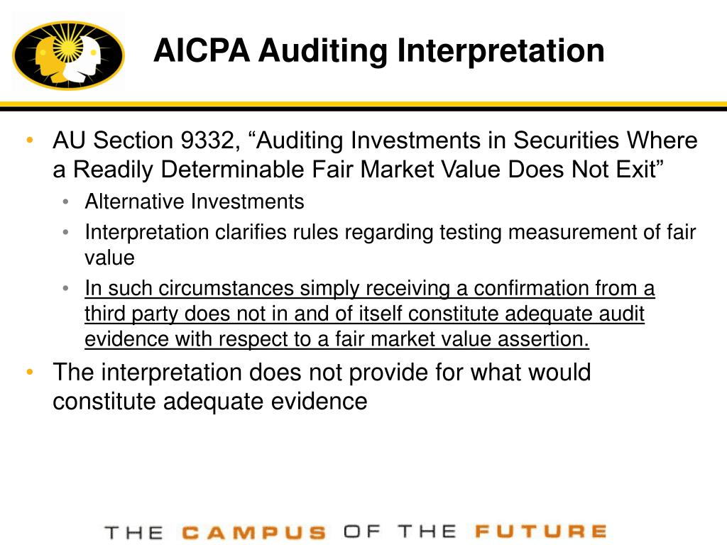 AICPA Auditing Interpretation