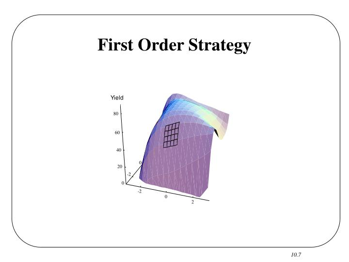First Order Strategy
