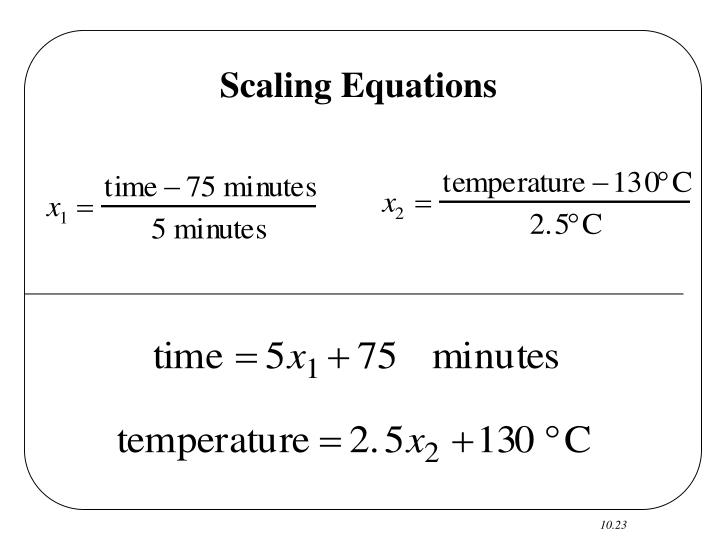 Scaling Equations