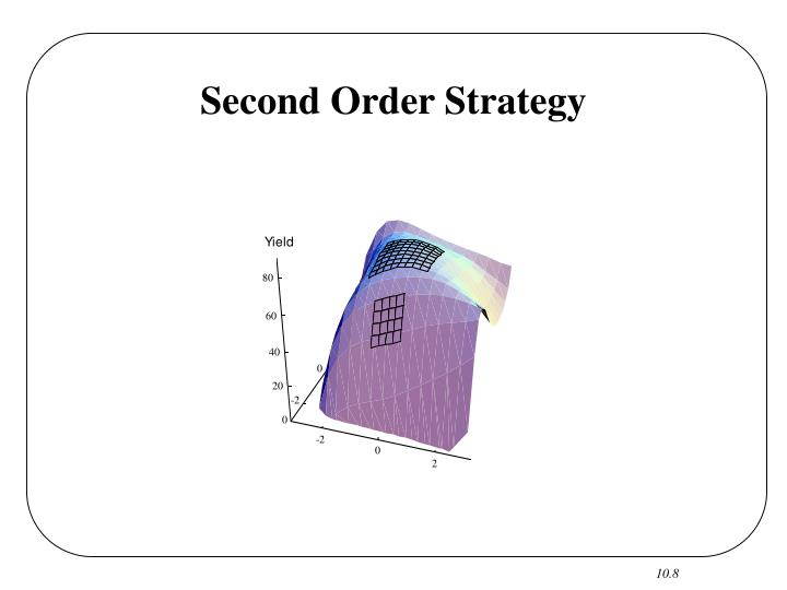 Second Order Strategy