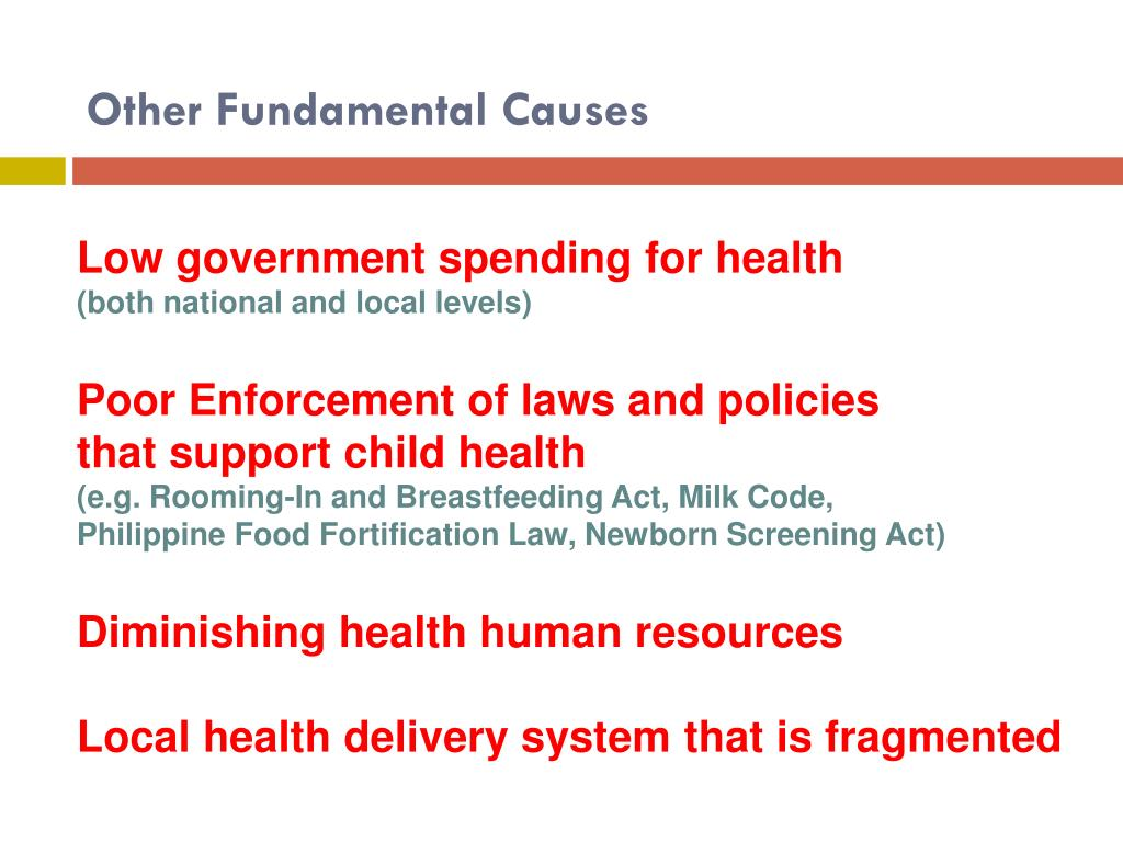 Other Fundamental Causes