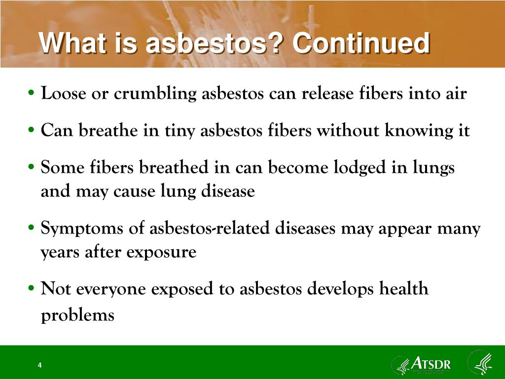 What is asbestos? Continued
