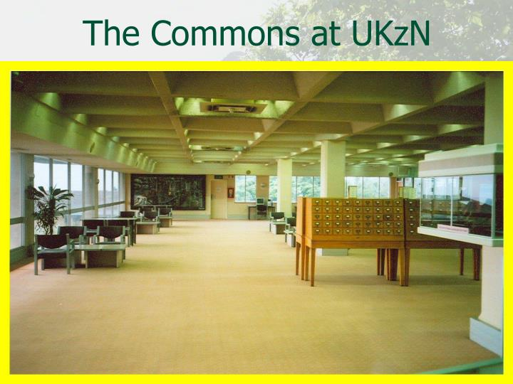 The Commons at UKzN