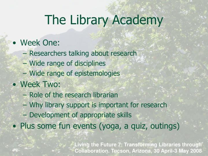 The Library Academy