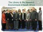 the library the research environment in south africa2