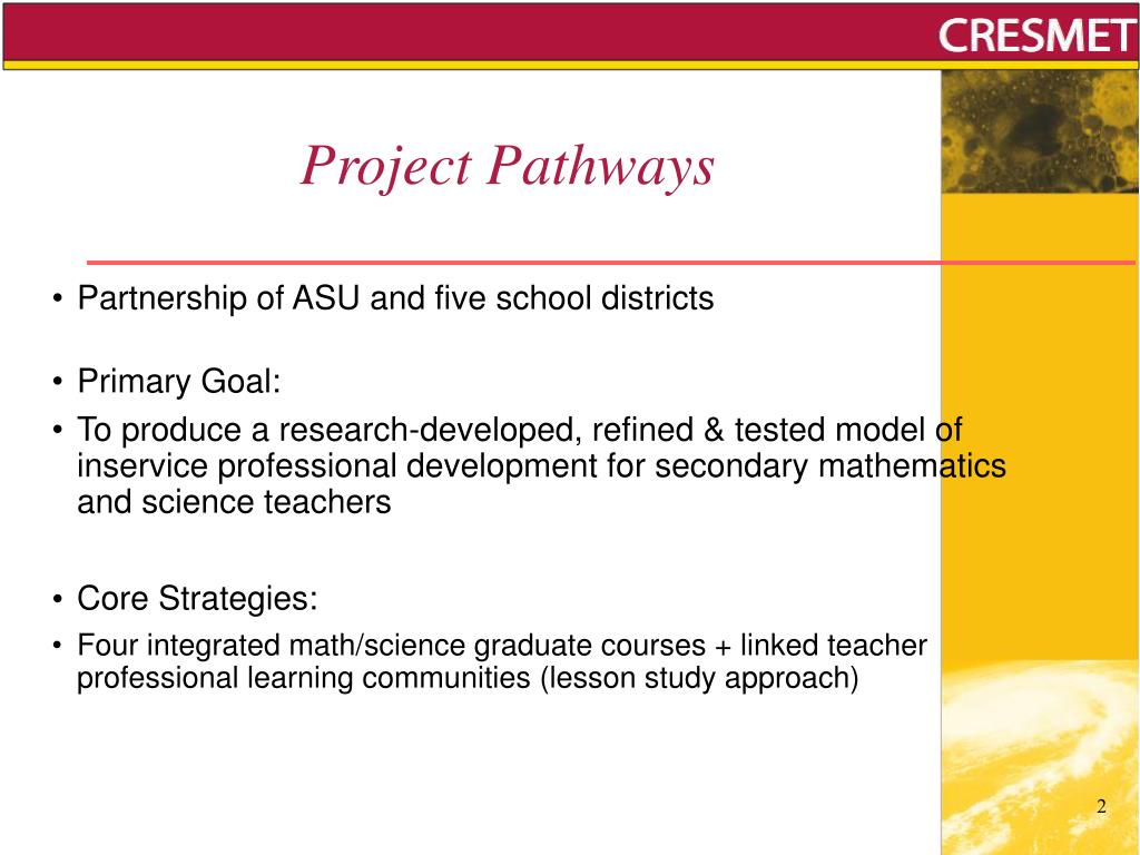 Project Pathways