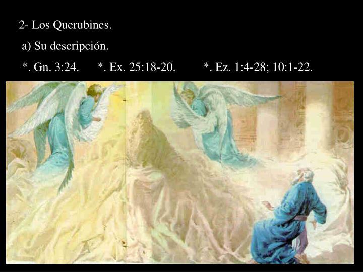 2- Los Querubines.