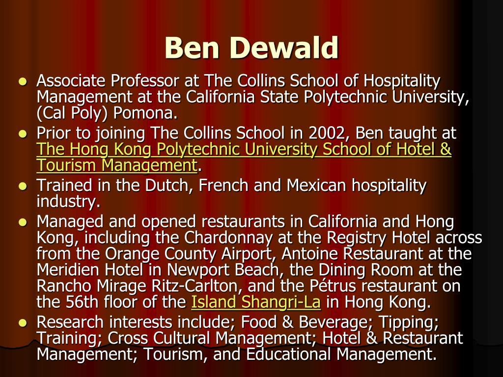 Ben Dewald