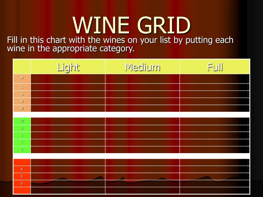 WINE GRID