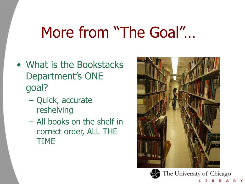 "More from ""The Goal""…"
