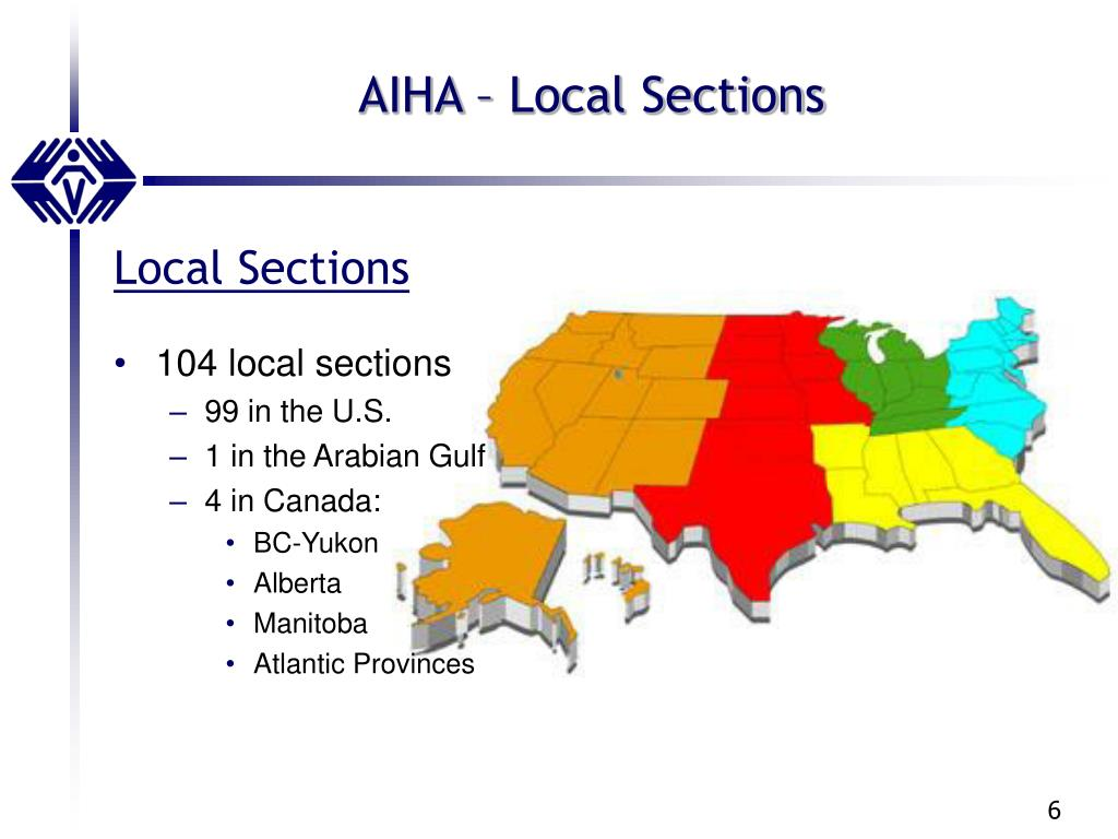 AIHA – Local Sections