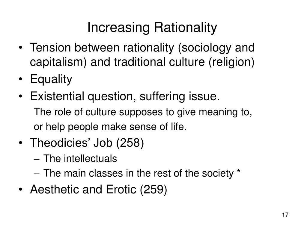 Increasing Rationality