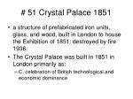 51 crystal palace 1851