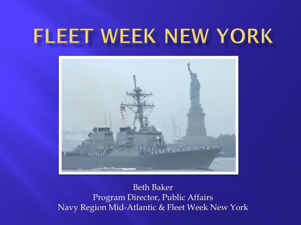 fleet Week new York