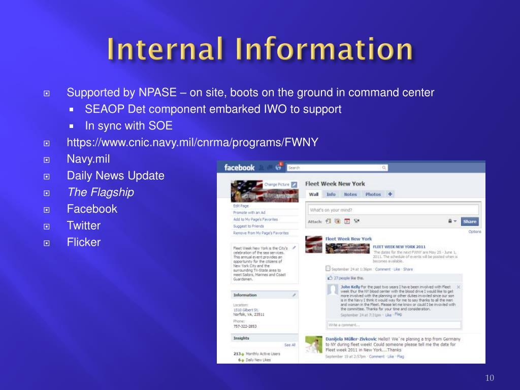 Internal Information