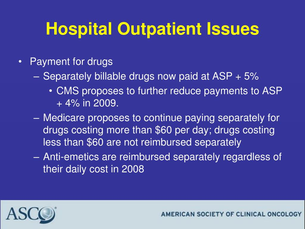 Hospital Outpatient Issues