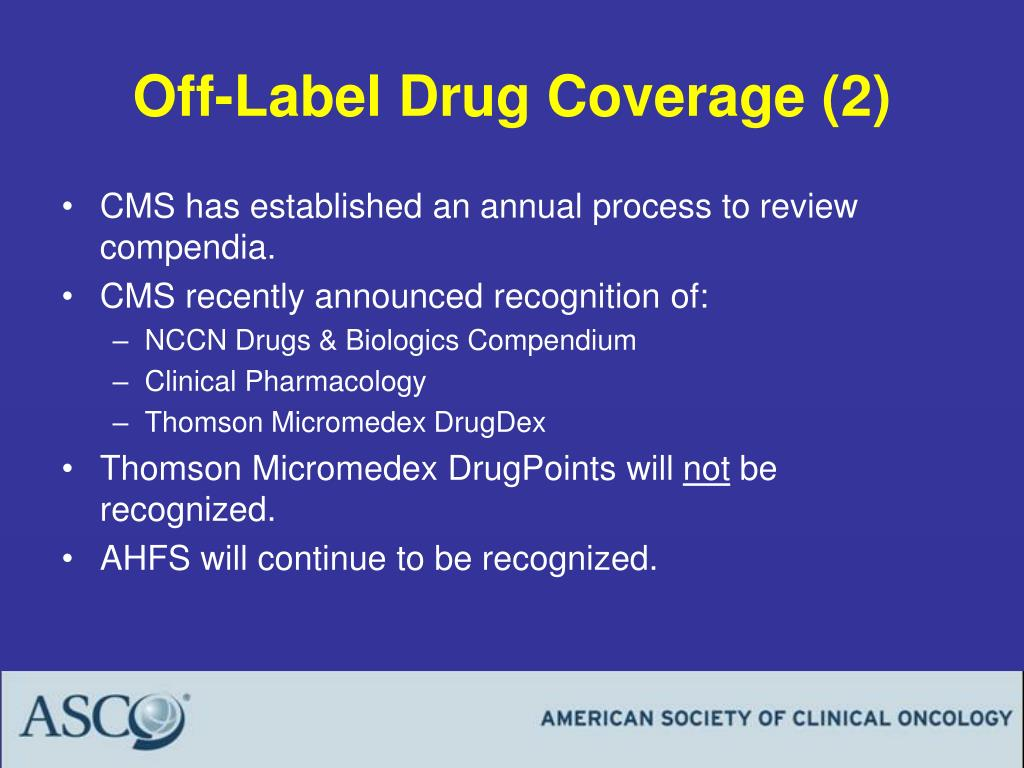 Off-Label Drug Coverage (2)