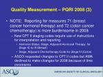 quality measurement pqri 2008 3