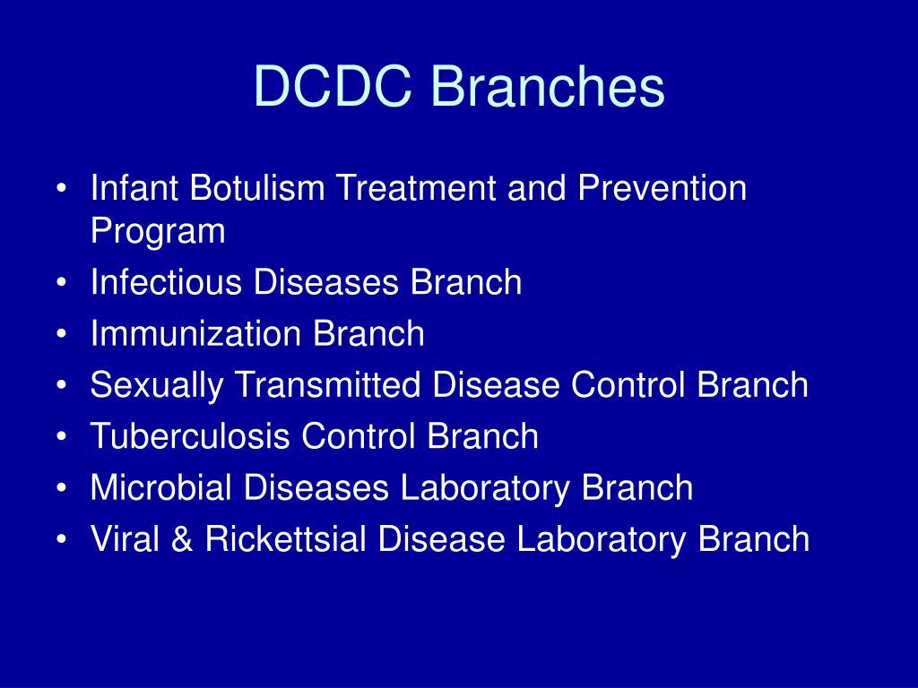 DCDC Branches