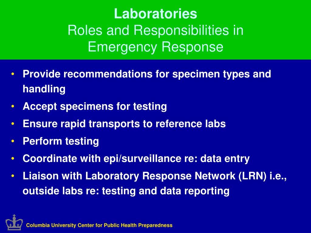 Columbia University Center for Public Health Preparedness
