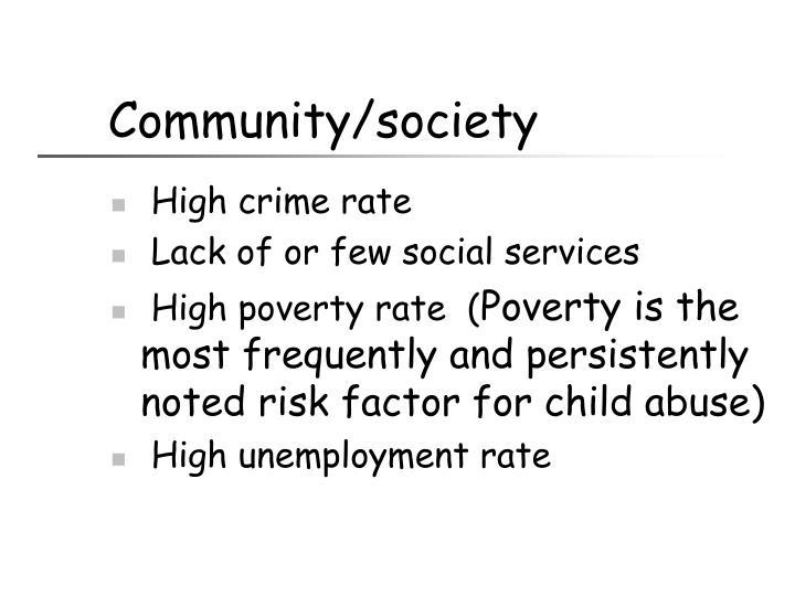 Community/society