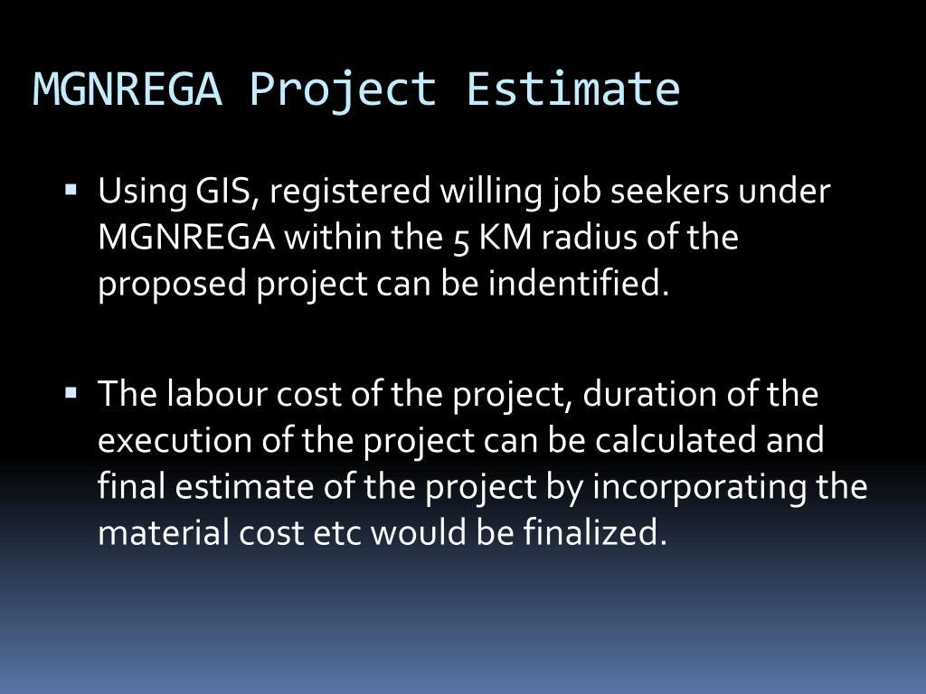MGNREGA Project