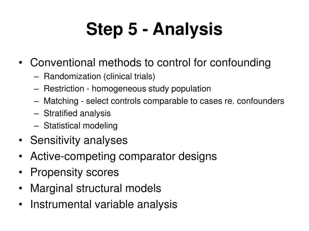 Step 5 - Analysis