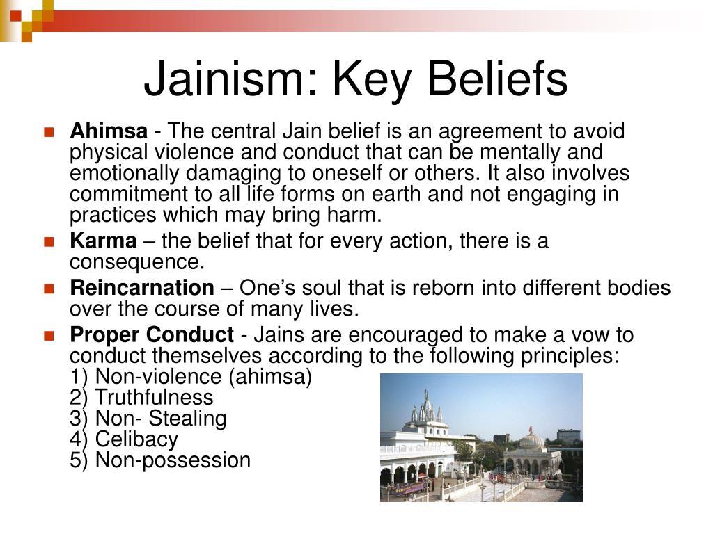 Jainism: Key Beliefs