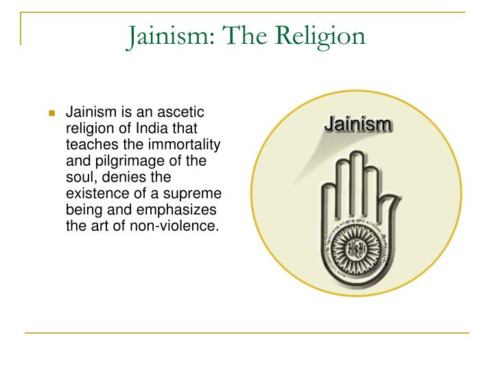 Jainism the religion