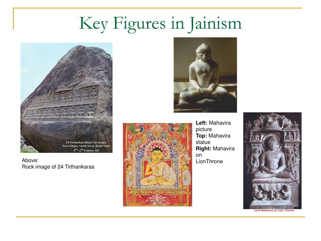 Key Figures in Jainism