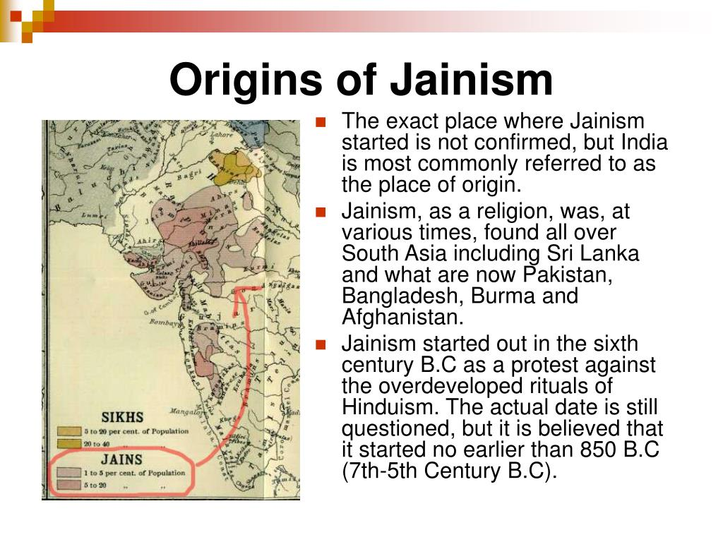 Origins of Jainism