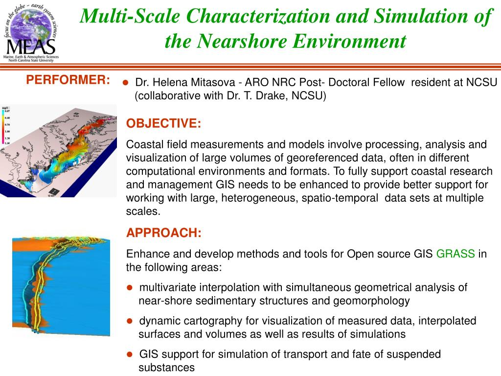 Multi-Scale Characterization and Simulation of the Nearshore Environment