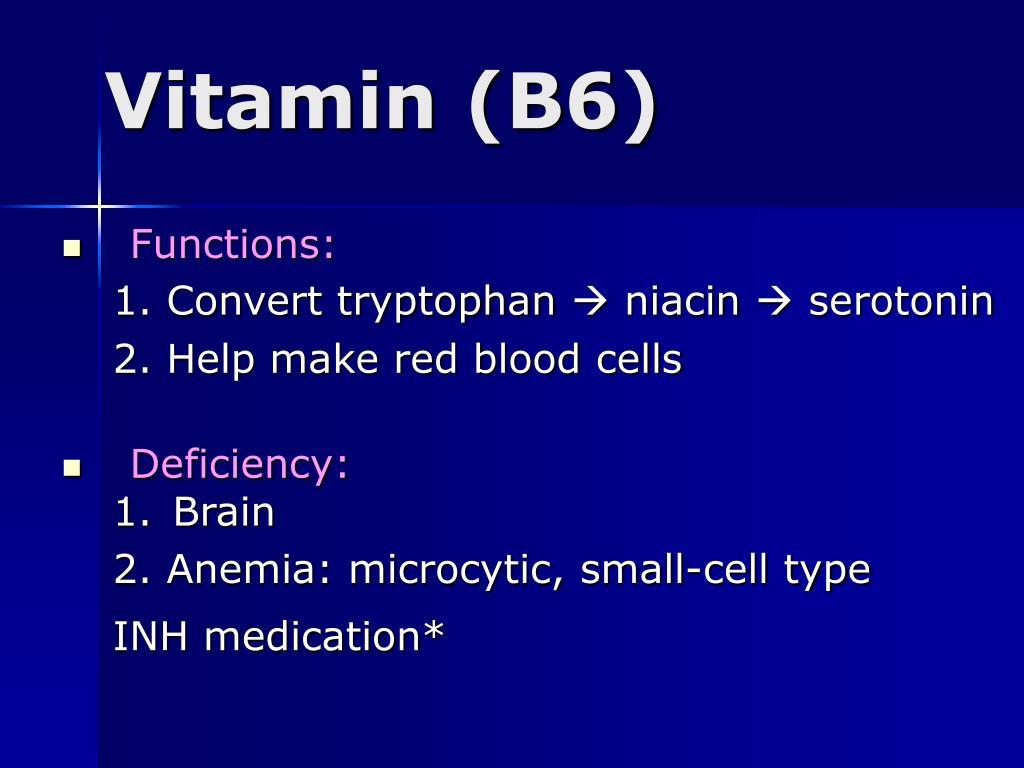 Vitamin (B6)
