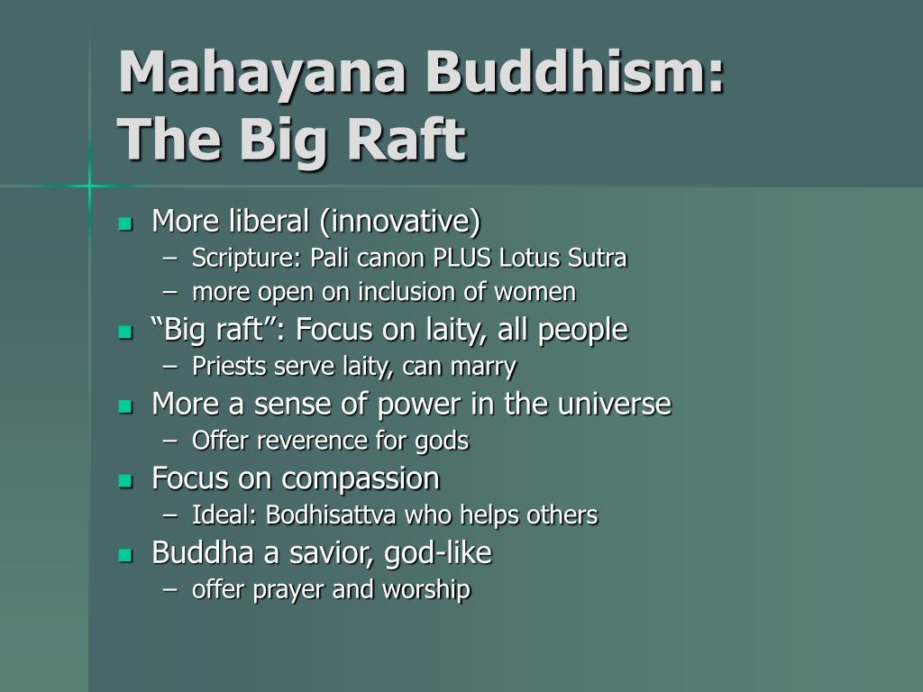 Mahayana Buddhism: