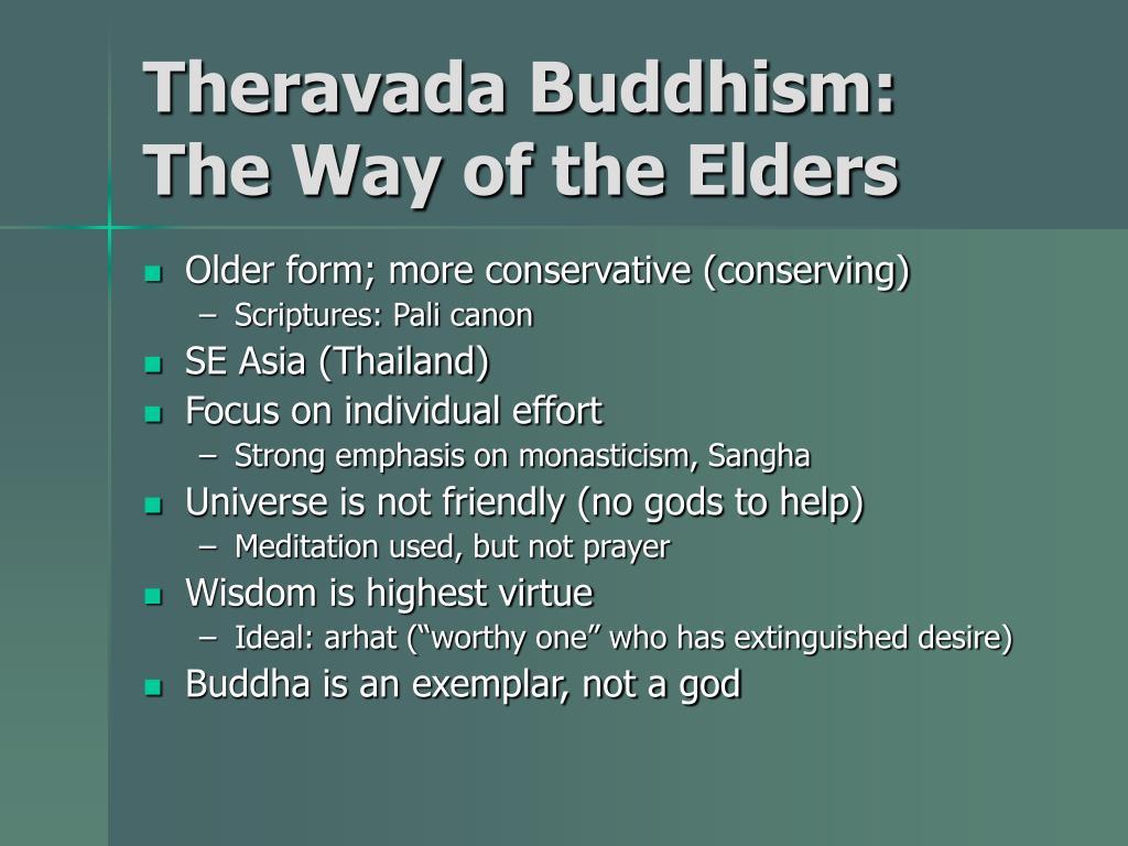 Theravada Buddhism: