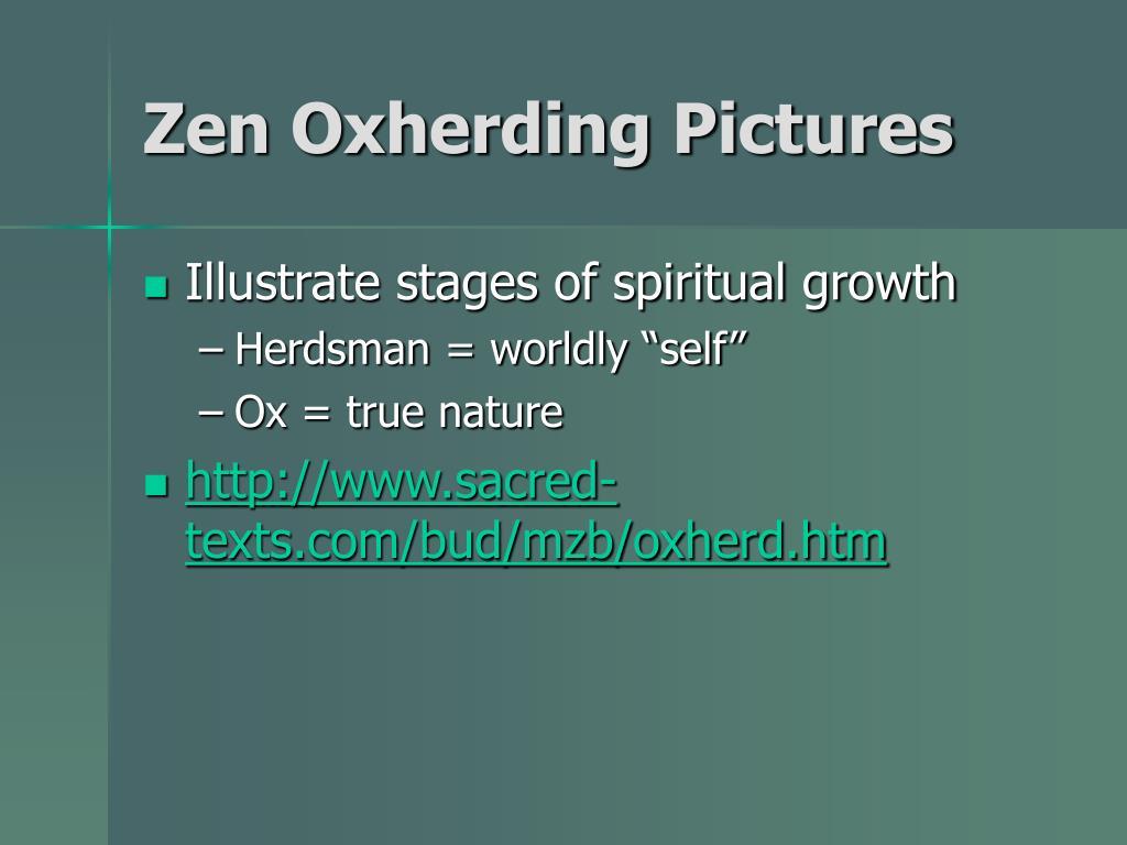 Zen Oxherding Pictures