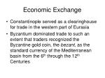 economic exchange33