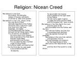 religion nicean creed