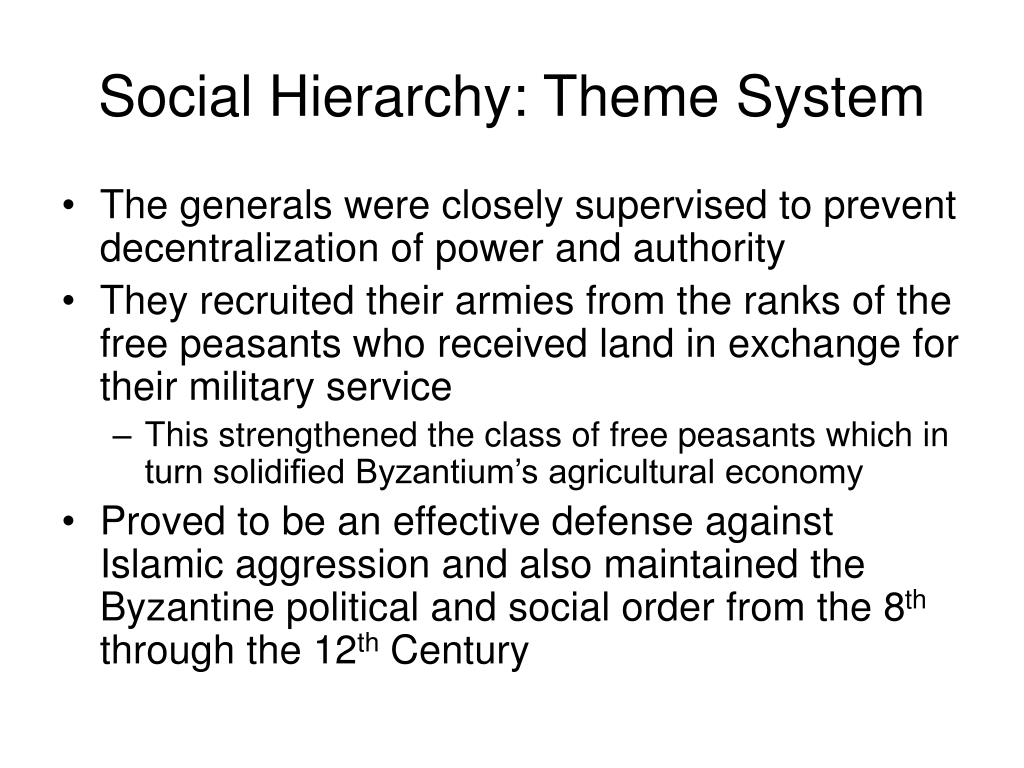 Social Hierarchy: Theme System