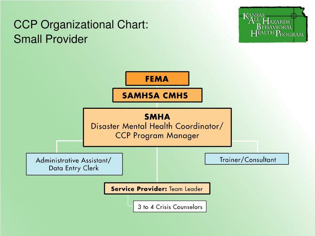 CCP Organizational Chart: