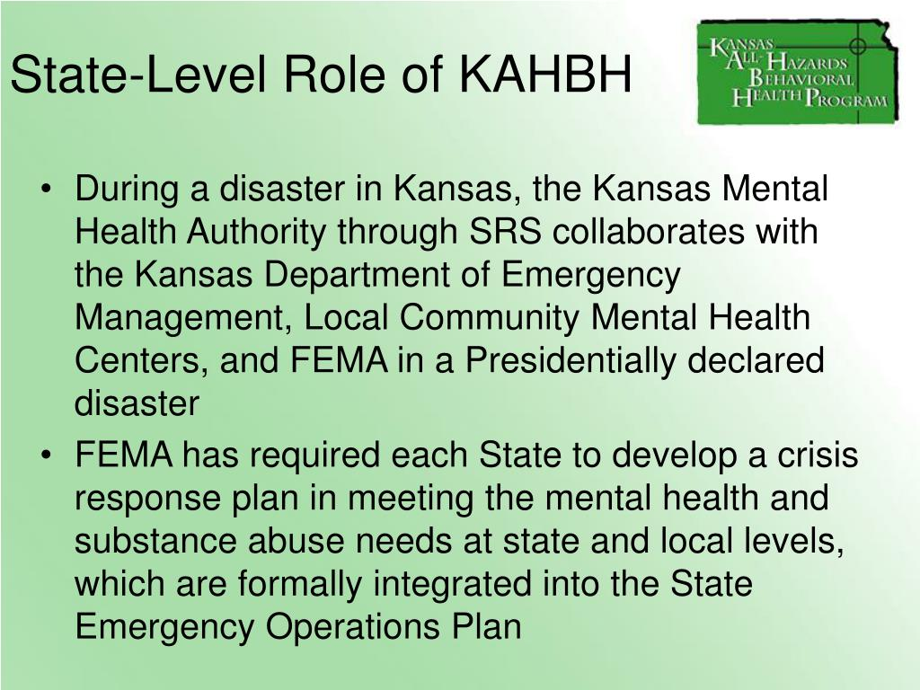 State-Level Role of KAHBH