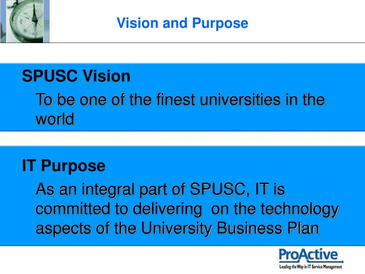 SPUSC Vision