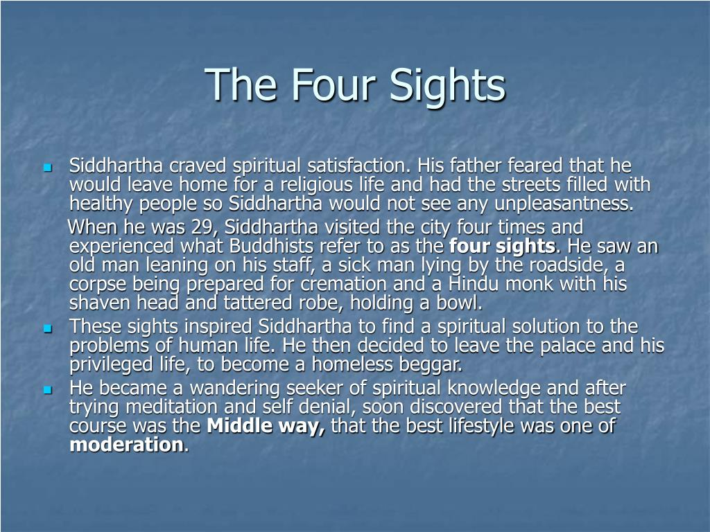 The Four Sights