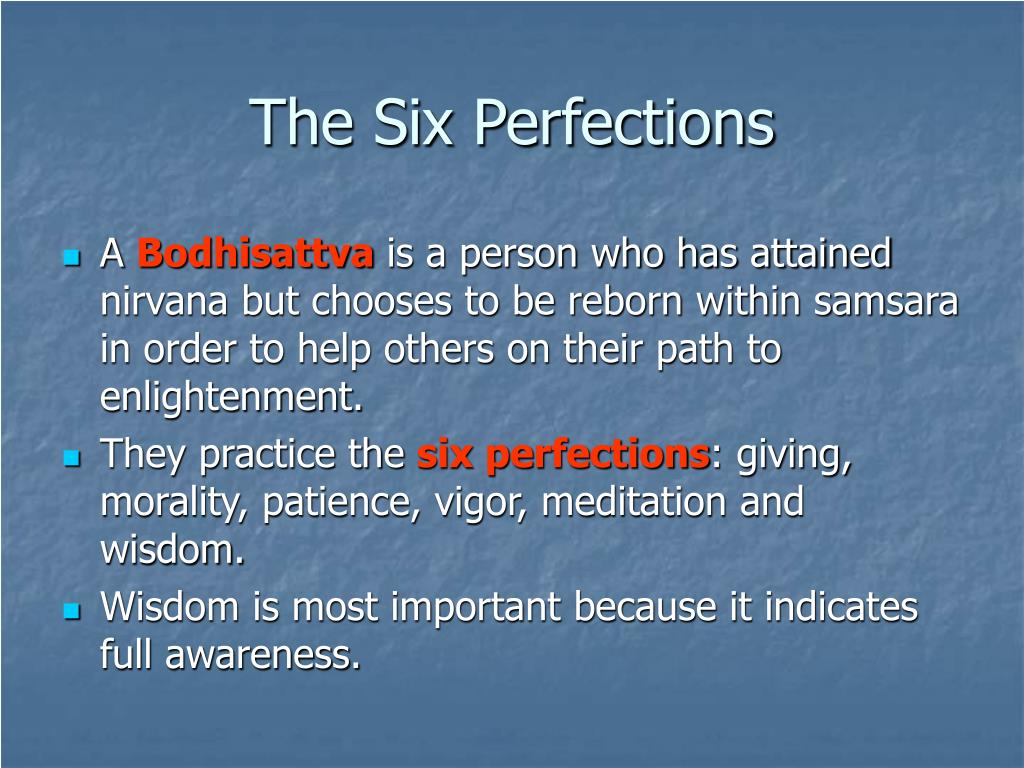 The Six Perfections
