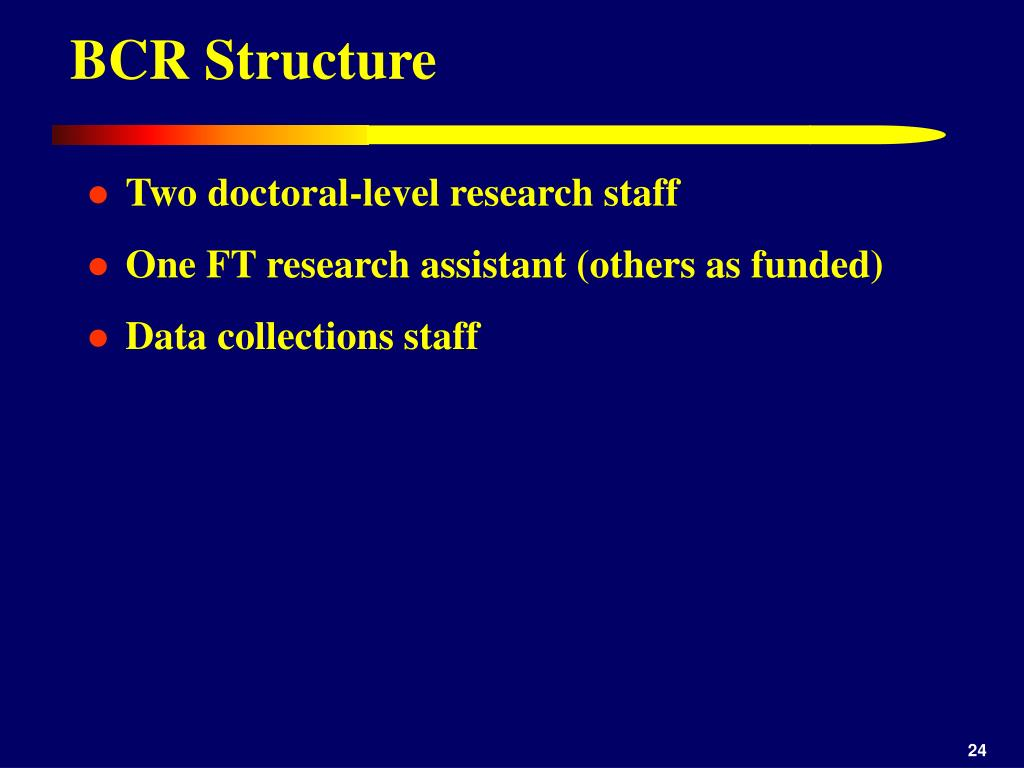 BCR Structure