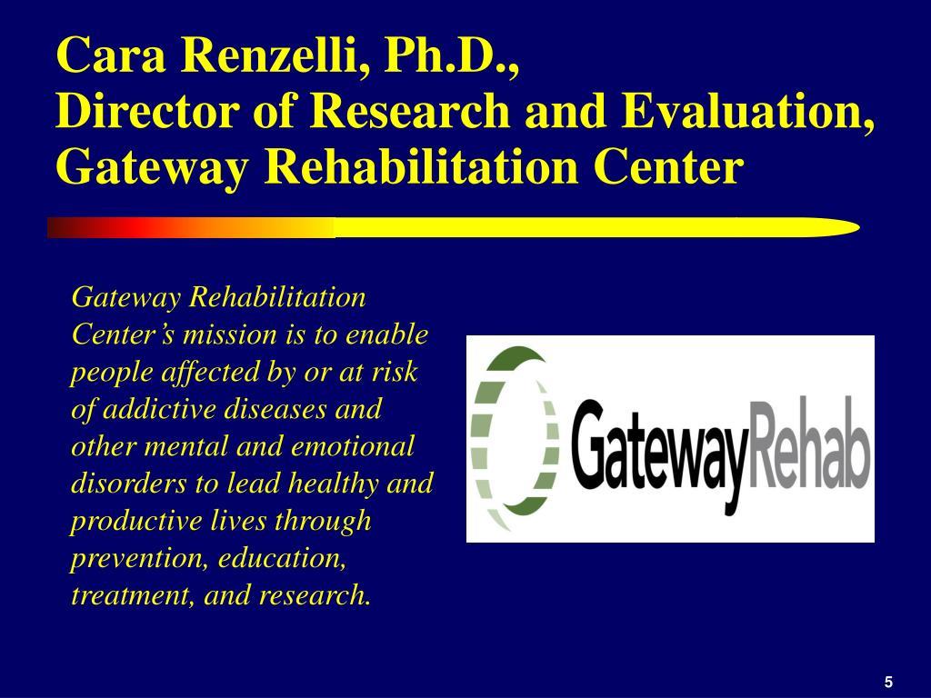 Cara Renzelli, Ph.D.,