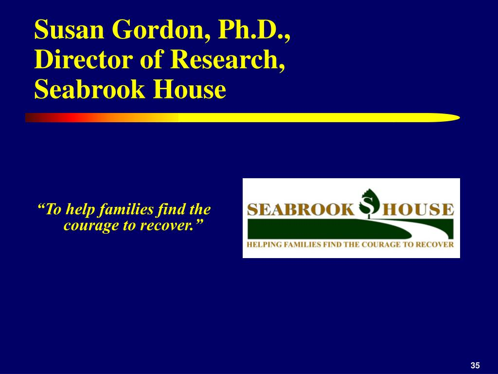 Susan Gordon, Ph.D.,