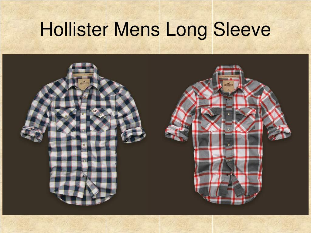 Hollister Mens Long Sleeve